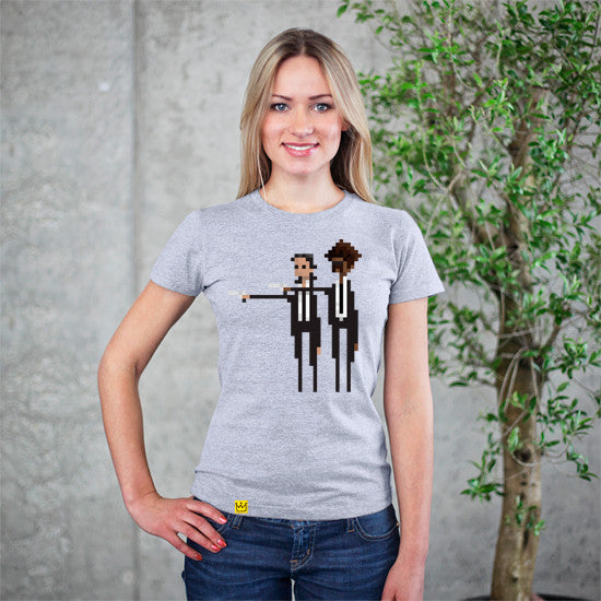 2 Guns Grey T-Shirt - Artokingo