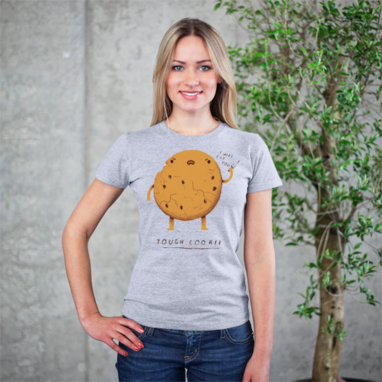 Tough Cookie Grey T-Shirt