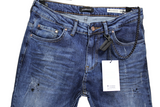 Blue Jeans with Black Prints - LIMITED EDITION
