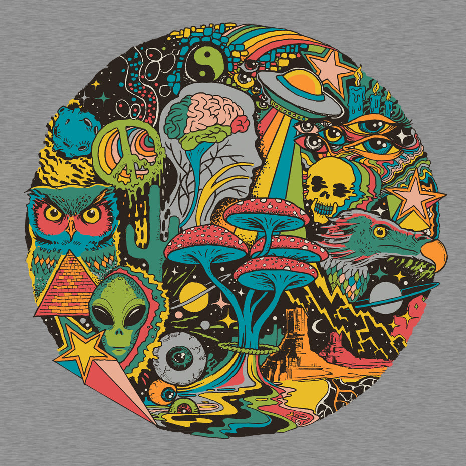 Your Mind's Eye Grey T-Shirt