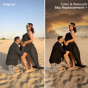 Maternity Color & Retouch