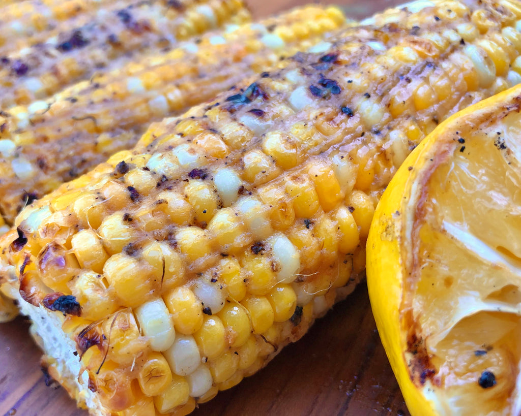 grilled corn with Churn miso butter