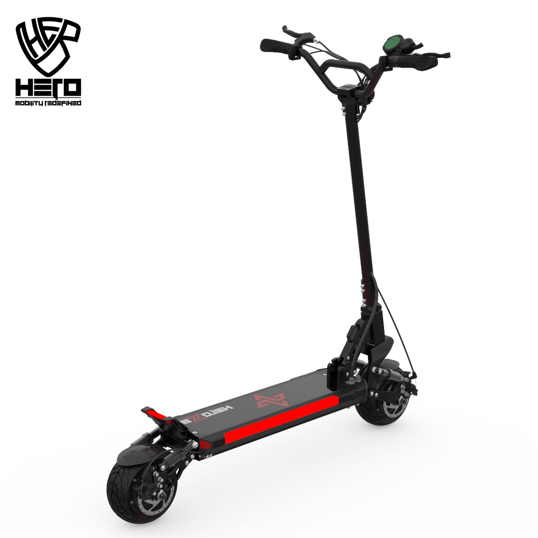 Hero X8 Dual Motor 1600 Electric Scooter