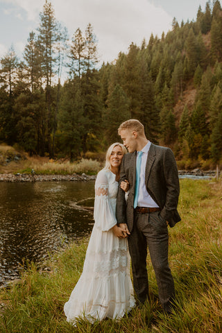 Elle and Ethan Bridal Pictures, January 2021