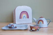 Laden Sie das Bild in den Galerie-Viewer, Little Dutch Tee-Set im Koffer Rainbow Pure & Nature