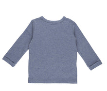 Laden Sie das Bild in den Galerie-Viewer, Baby-Wickelshirt Ocean Melange Langarm Little Dutch