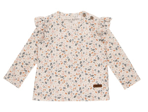 T-Shirt Spring Flowers All Over Print Little Dutch