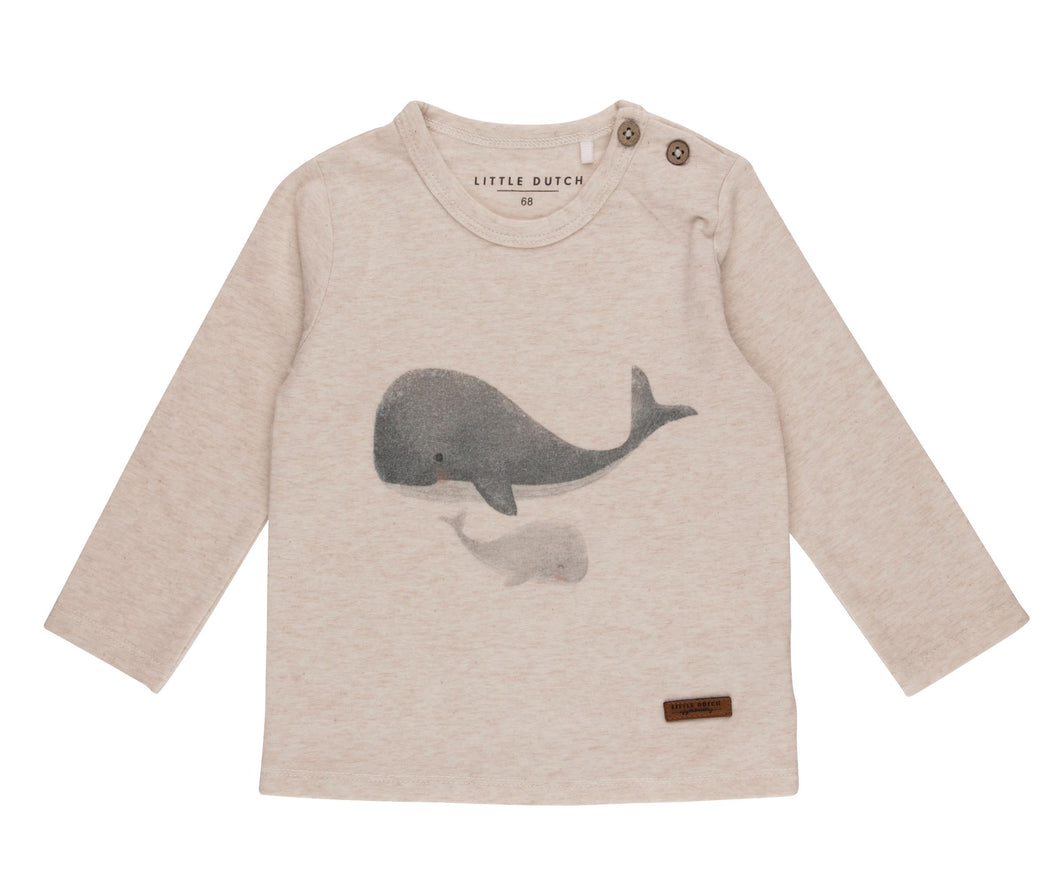 T-Shirt Wal Langarm Ocean Little Dutch