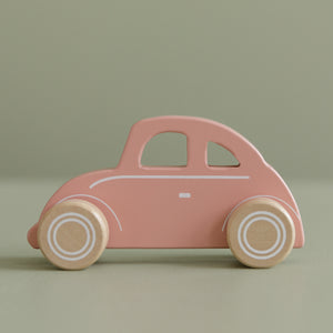 LITTLE DUTCH Holzauto BEETLE pink