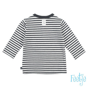 Longsleeve Ringel- Mini Person Feetje