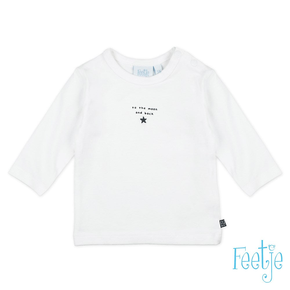 Longsleeve To The Moon - Mini Person Feetje