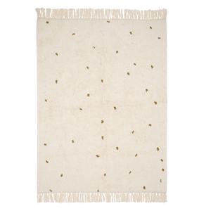 Teppich Dot Pure Natural/Olive 170x120cm