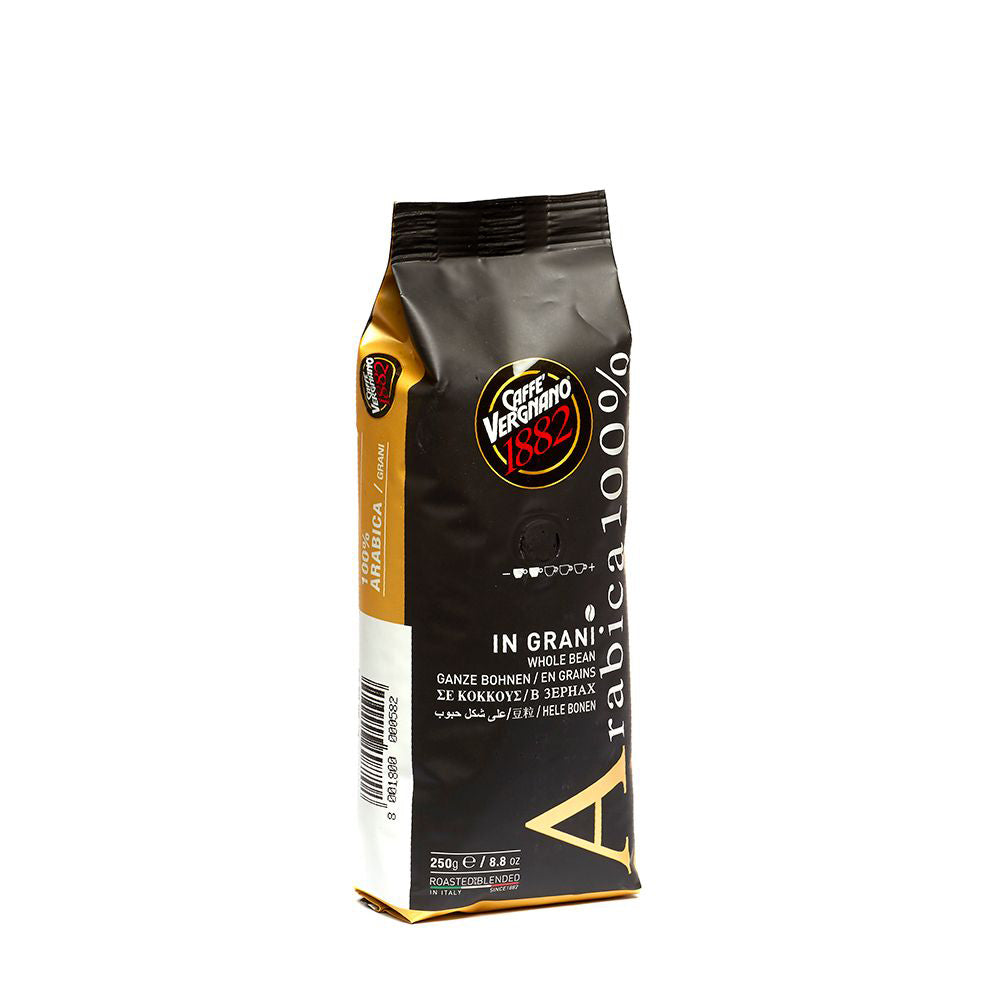 100% Arabica Whole Coffee Beans - 250 g