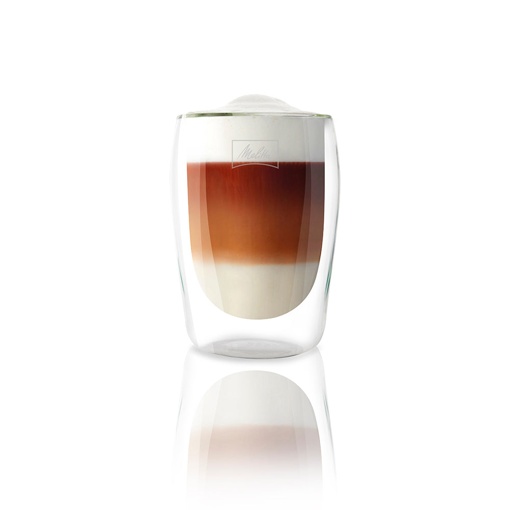 Double-walled latte macchiato Glasses – 2 PCS (300 ML Each)