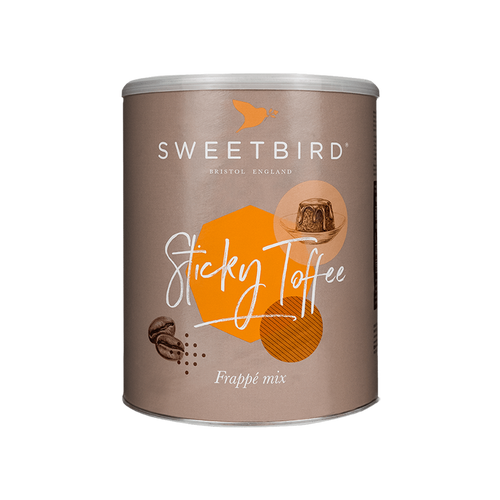 Sweetbird Sticky Toffee Frappe Mix 2KG