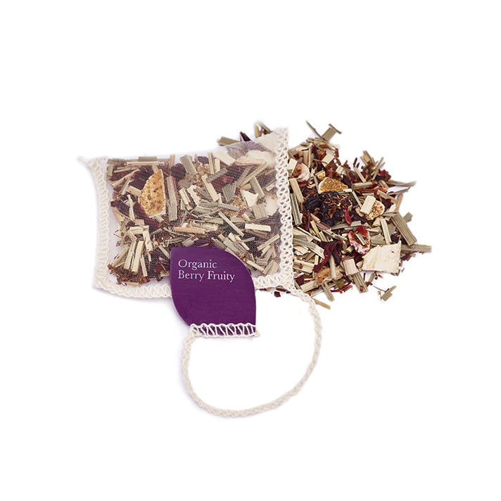 Berry Fruity Organic Silk Teabags X 40