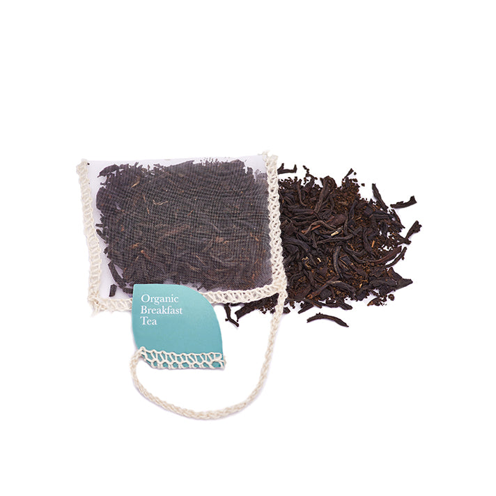 Breakfast Tea Organic Silk Teabags