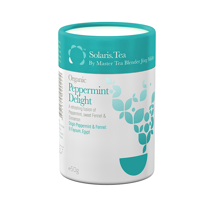 Peppermint Delight Organic Loose Tea 50g