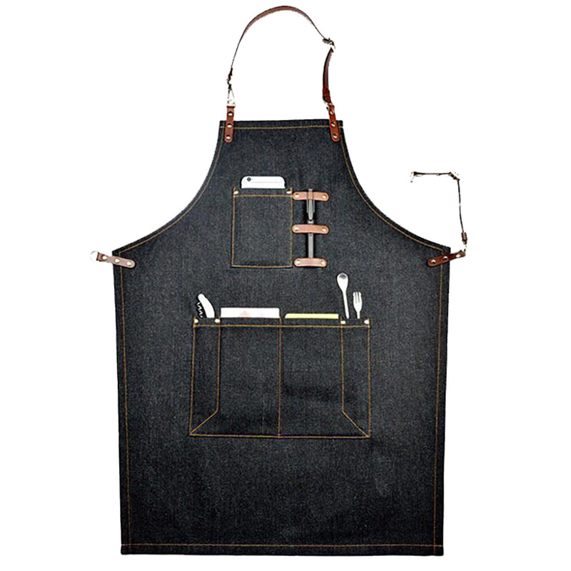 Denim Apron Heavy Duty Work Apron