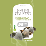 Green Tea Fest (Jasmine + Chun Mee + Peppermint Delight)