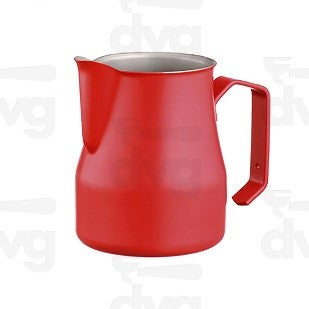 Milk Pitcher, Europa 75 CL Stainless Steel, Red Professional