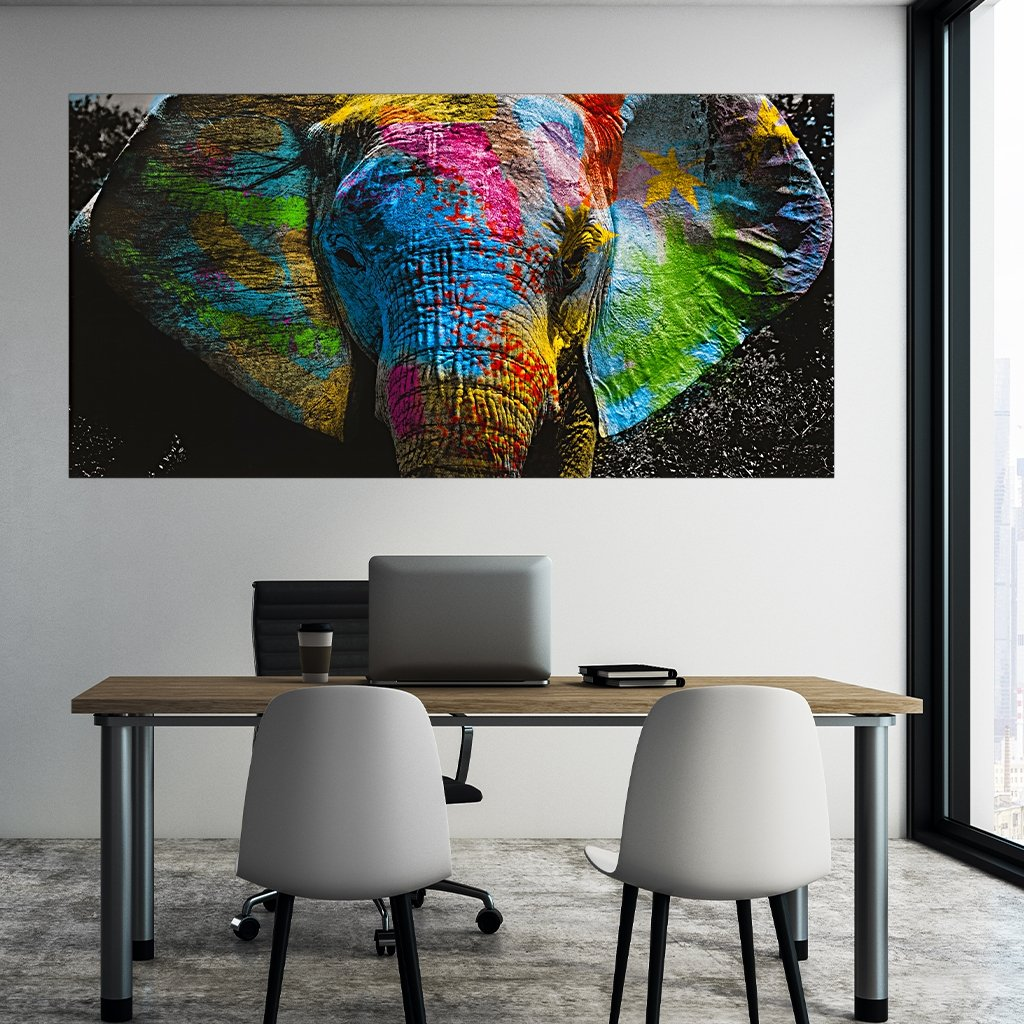 """Color Elephant"" - Affengeile Bilder"