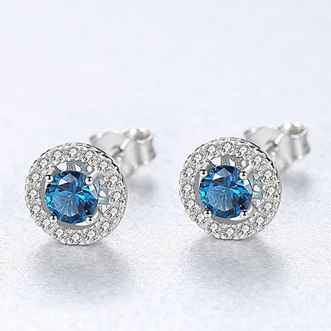 Emerald Stud Earrings for Women