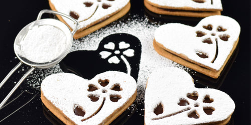 Torke Coffee Presents Pairings Made in Heaven: Orange & Chocolate Linzer Heart Cookies
