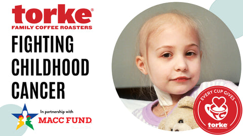 Torke fights childhood cancer in partnership with the MACC Fund