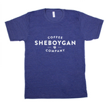 Sheboygan Coffee Co. T-Shirt (Tri-Indigo)