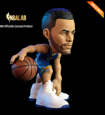 Steph Curry Warriors NBA Collectibles Limited Edition