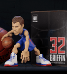 Blake Griffin collectible figurine in a Los Angeles Clippers Jersey.