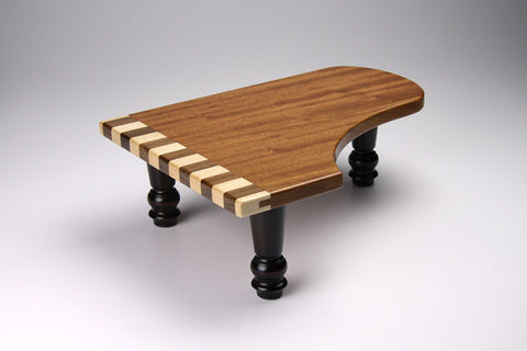 Wood-Grand Piano Pedestal