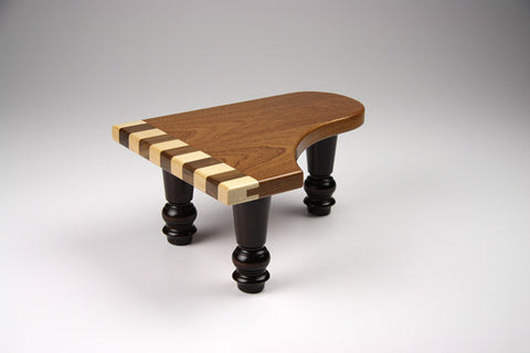 Wood-Baby Grand Piano Pedestal