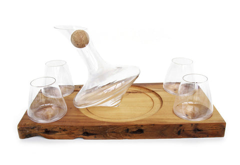 J.R. Decanter and Glasses Set