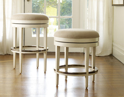 Carmel Backless Stool - Swivel