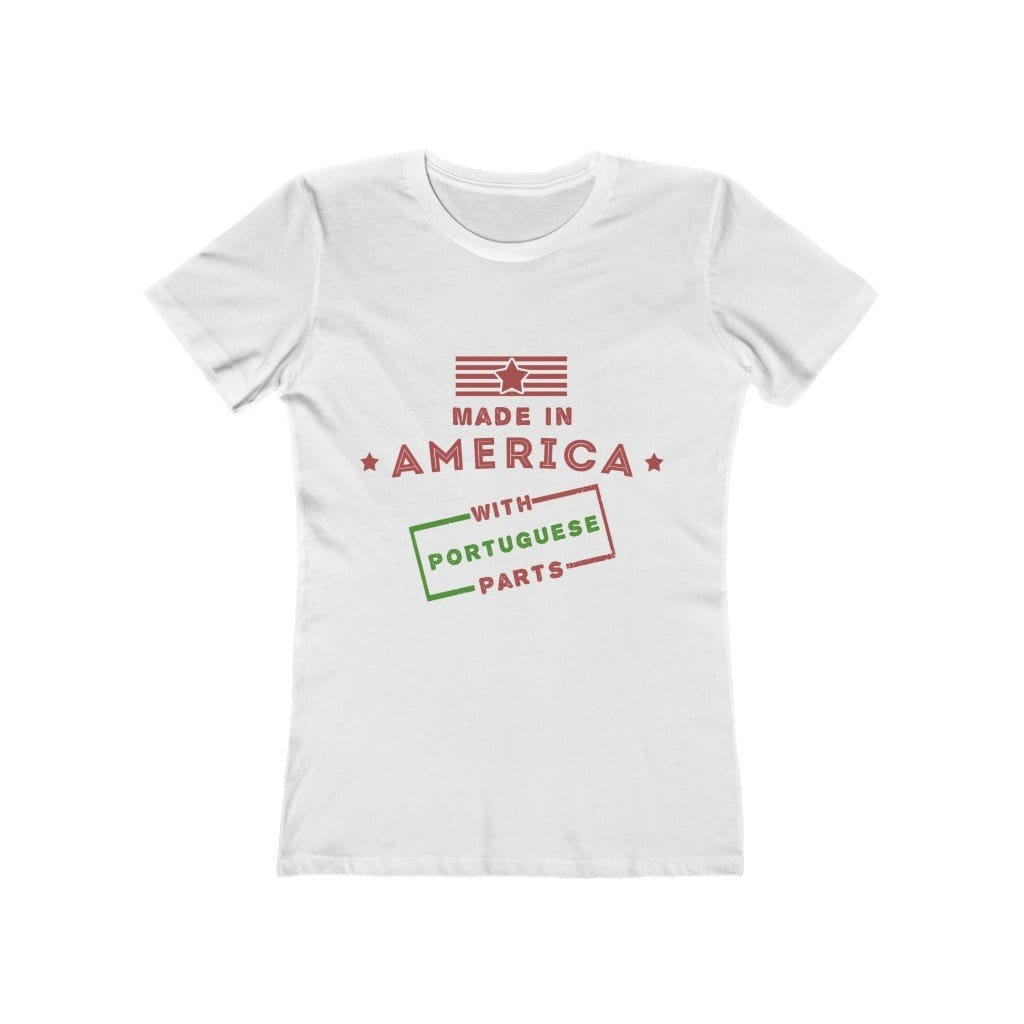Made in America with Portuguese Parts Women's T-Shirt