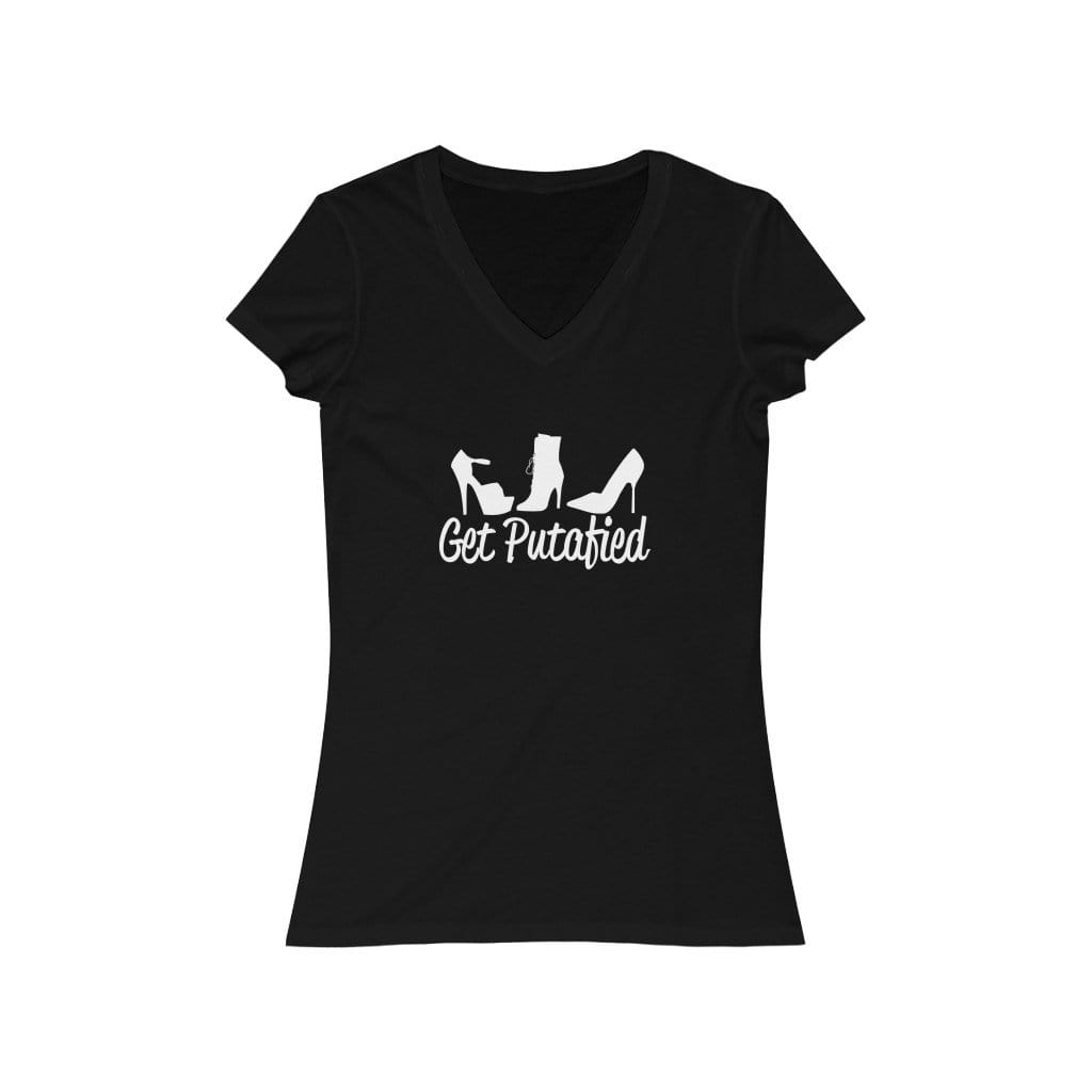 Get Putafied V-Neck Women's T-Shirt