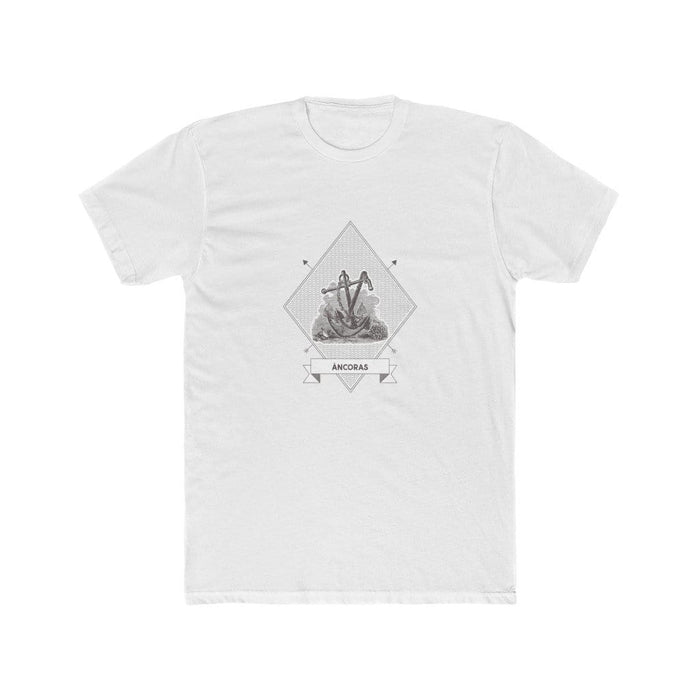 Âncoras | Vintage Maritime Men's T-Shirt