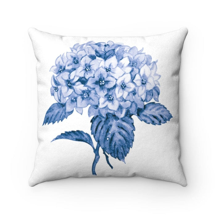 Hortênsias Tile Decorative Pillow