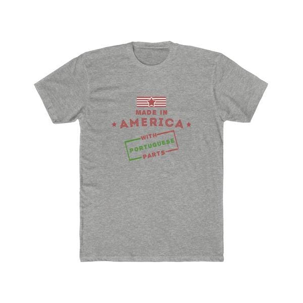 Made In America With Portuguese Parts T- Shirt