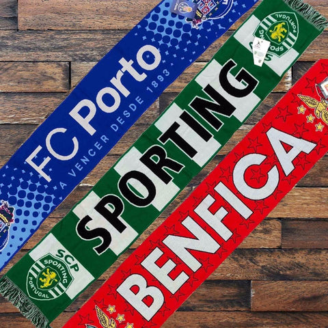 Benfica, Sporting or Porto Scarves