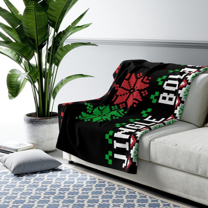 Jingle Bolas Ugly Christmas Blanket