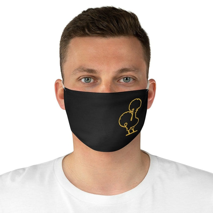 Gold Galo Face Mask