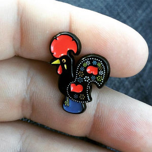 Barcelos Rooster Pin