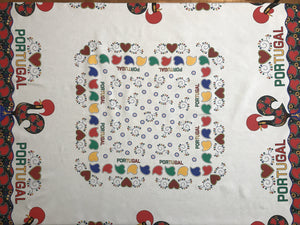 Traditional Barcelos Rooster Tablecloth