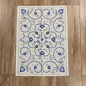 Azulejo Inspired Kitchen Towel
