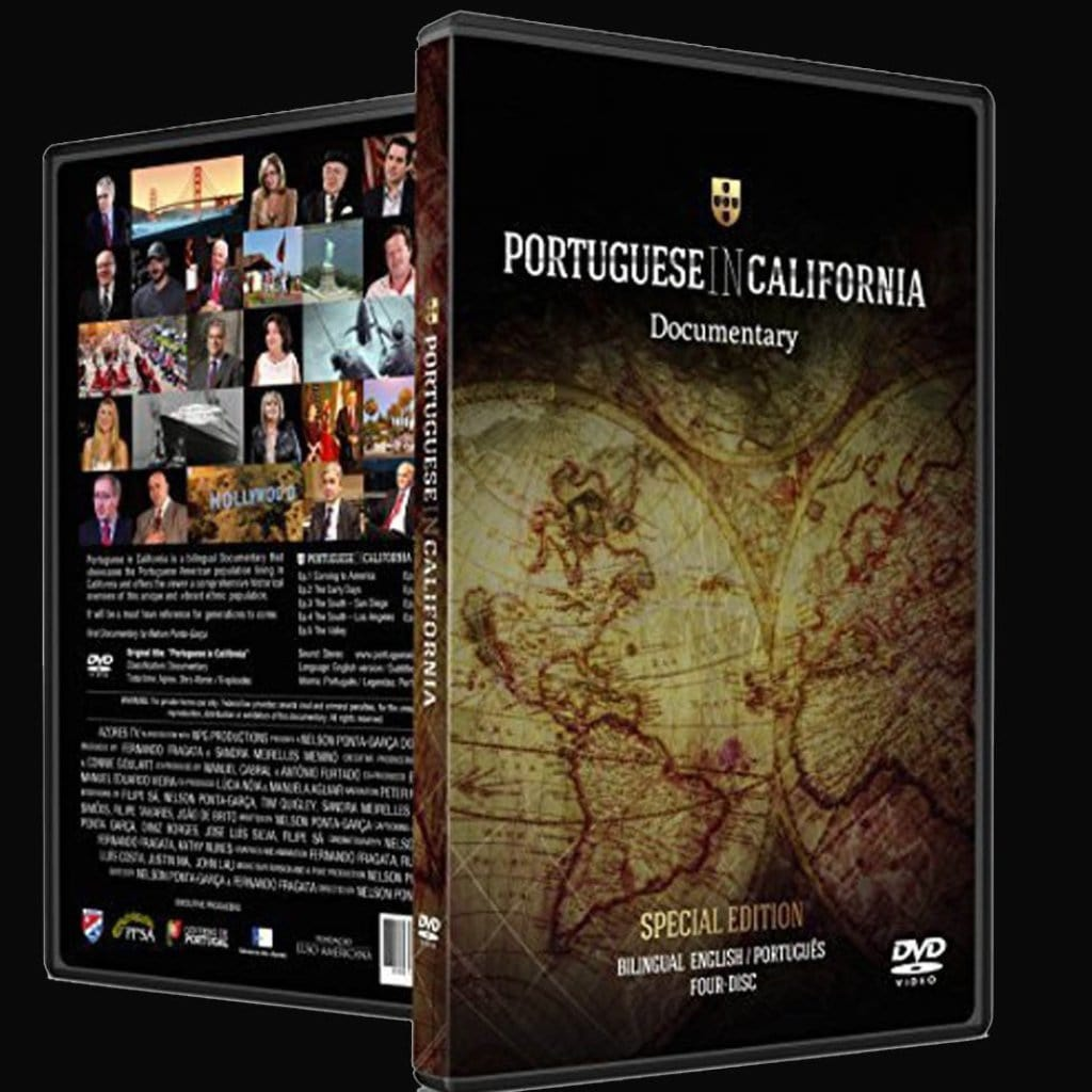 """Portuguese In..."" Documentary (California & New England Available) DVD"