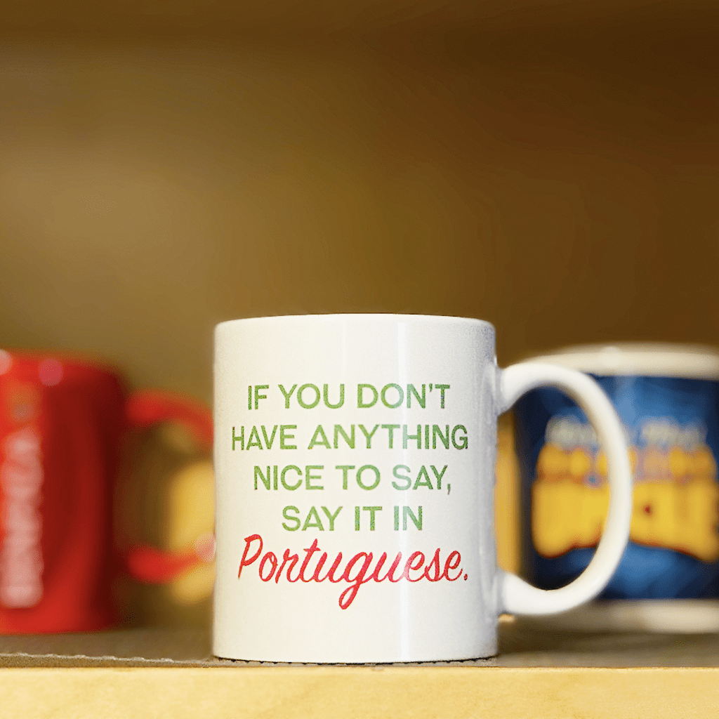 Say It In Portuguese Mug