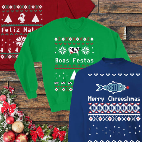 Ugly Christmas Sweatshirt (3 Styles)